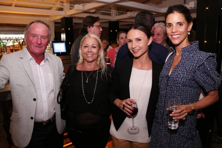James & Catherine Doyle, Georgina Bloomberg, & Monica Algarra