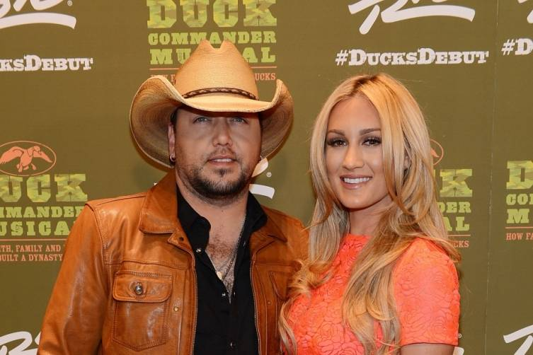 Jason Aldean and Brittany Kerr at World Premiere of DUCK COMMANDER MUSICAL 4.15.15_Credit Denise Truscello