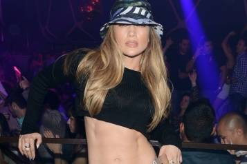 Jennifer Lopez_Hakkasan Nightclub