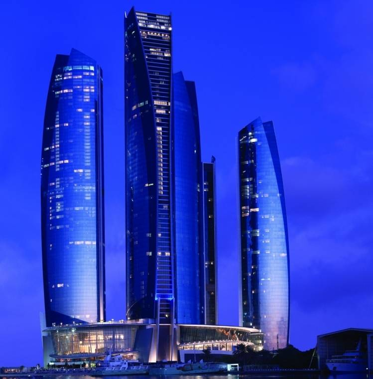 Jumeirah at Etihad Towers - Etihad Towers Exterior