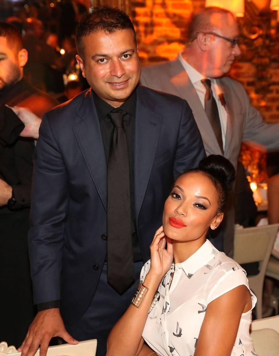 Kamal Hotchandani and Selita Ebanks
