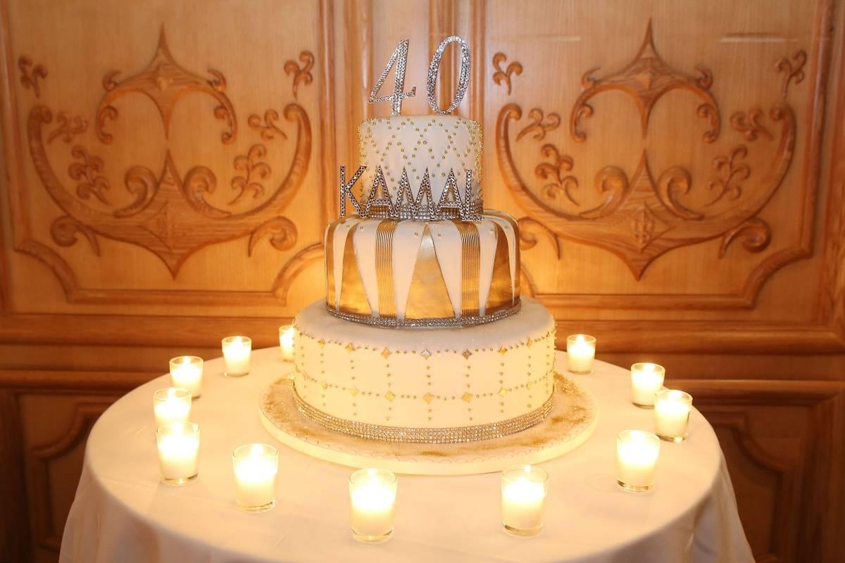 Kamal's Birthday cake