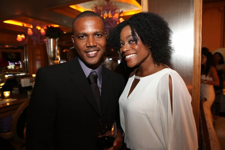 Kevin Lyttle and wife Dr. Jacqueline James