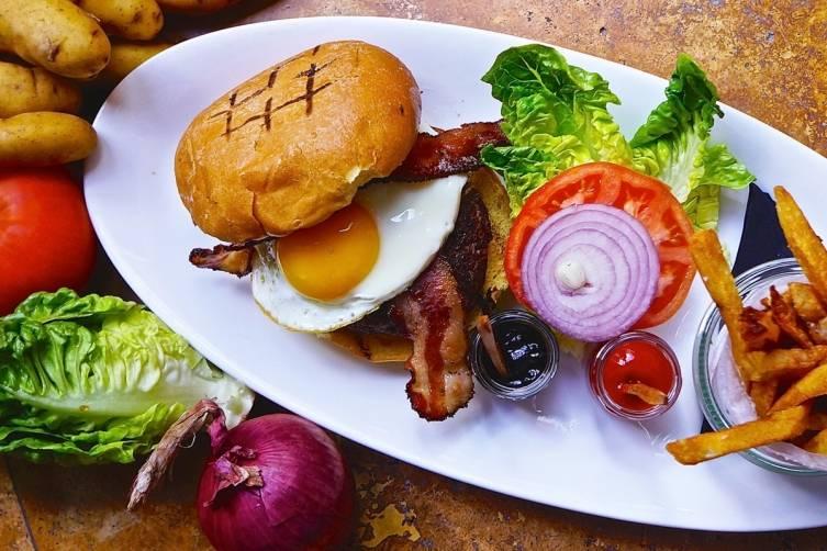 Kobe Beef Burger at Primrose