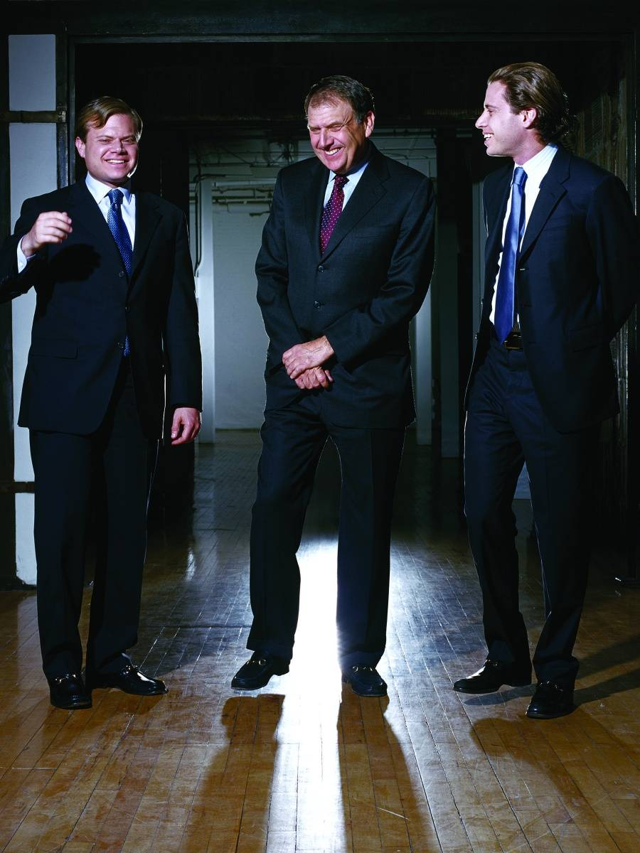 Richard LeFrak and Sons, image by Josh Lehrer