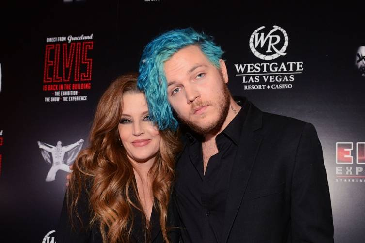 Lisa Marie Presley with son Danny Keough. Courtesy Steve Spatafore_LV News Bureau