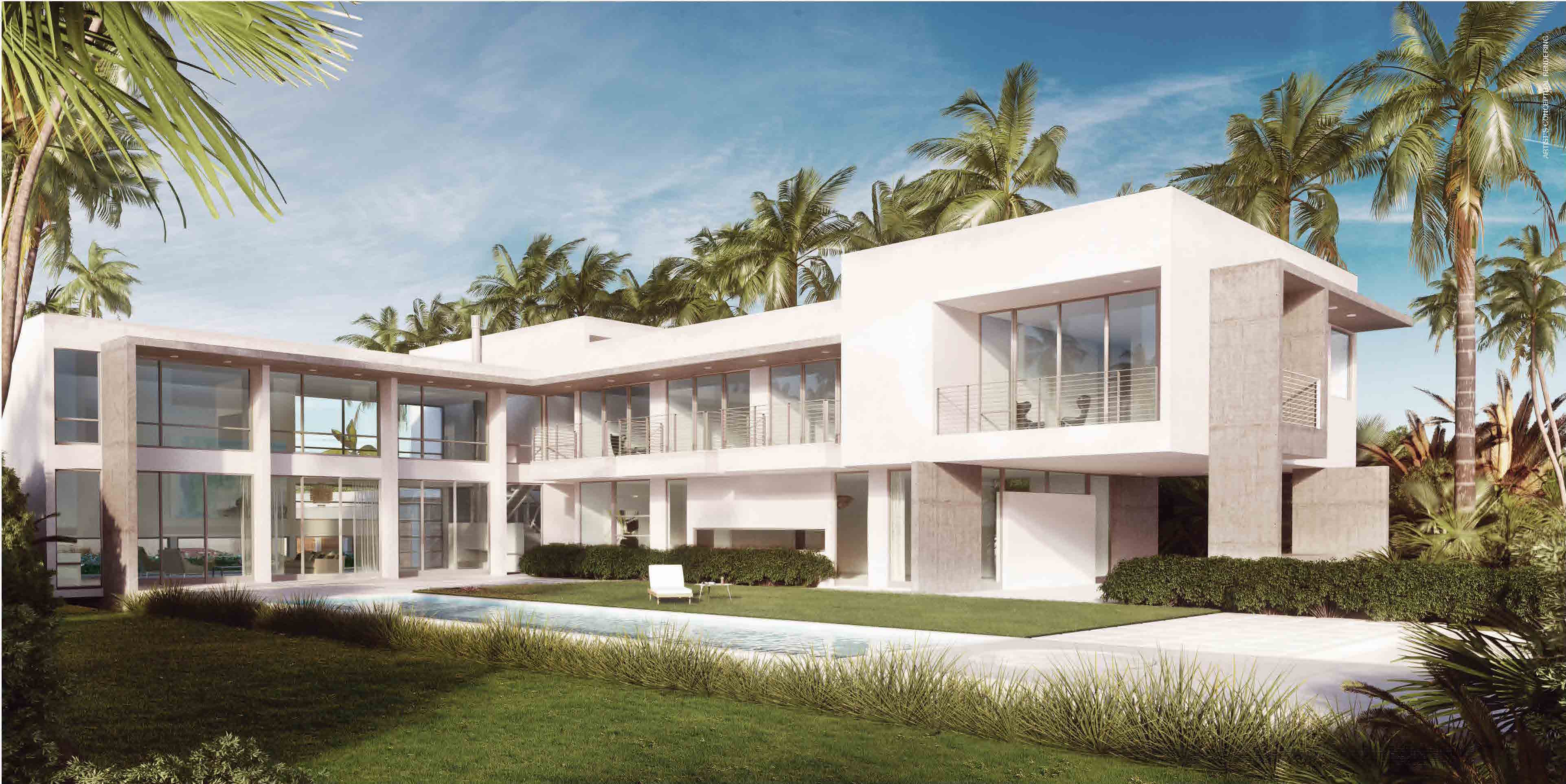 Botaniko weston ultra modern luxury in weston florida Modern house 1 floor