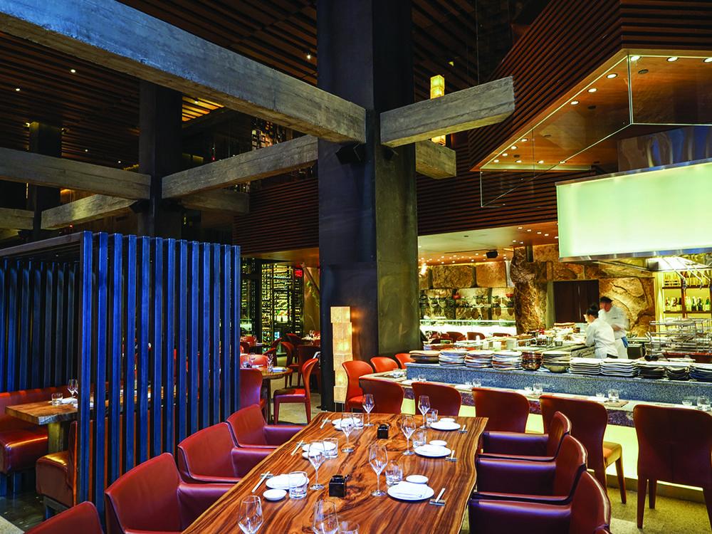 contemporary japanese restaurant zuma - 1000×750