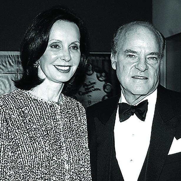 Marie-Josée & Henry Kravis, image via Stephanie Berger