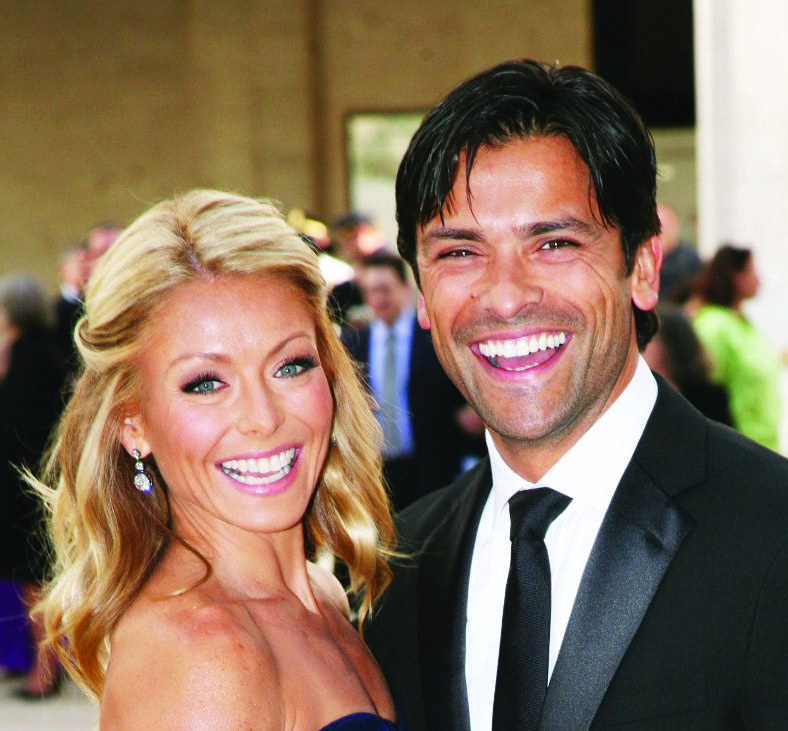Kelly Ripa and Mark Consuelos, image by Andres Otero