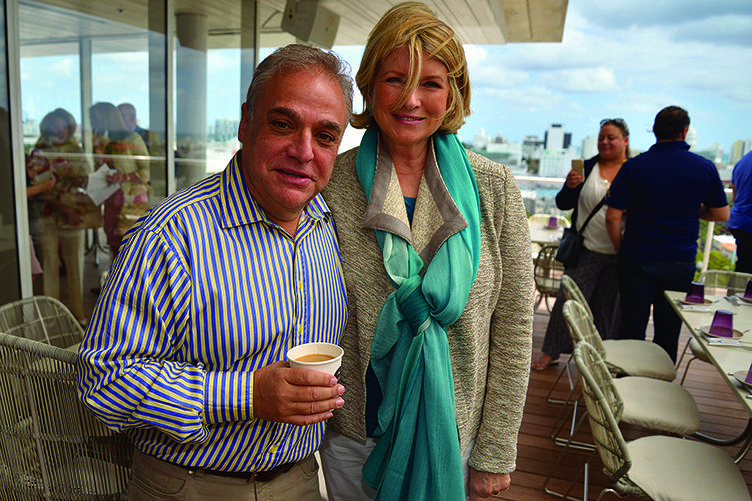 Dolce Brunch Hosted By Martha Stewart - 2015 Food Network & Cooking Channel South Beach Wine & Food Festival