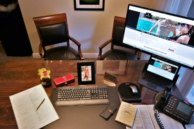Michael Newcombe What's on My Desk