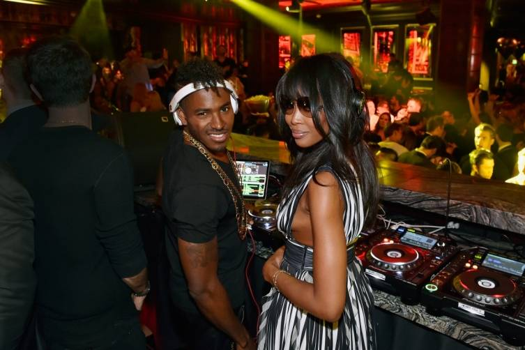 Naomi Campbell and Ruckus_OMNIA Grand Opening_Heart of OMNIA
