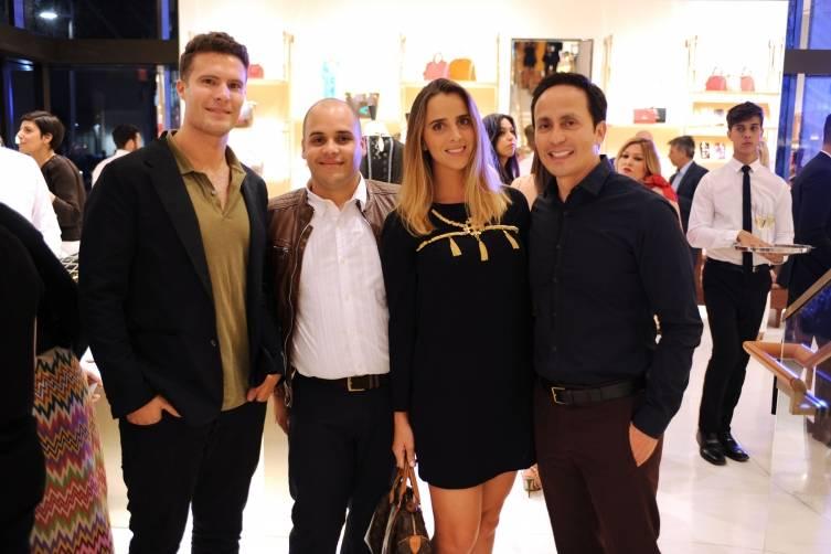 Nico Totaro, Gustazo Espinoza, Amaia Pagalday, & Mario Cader-Frech