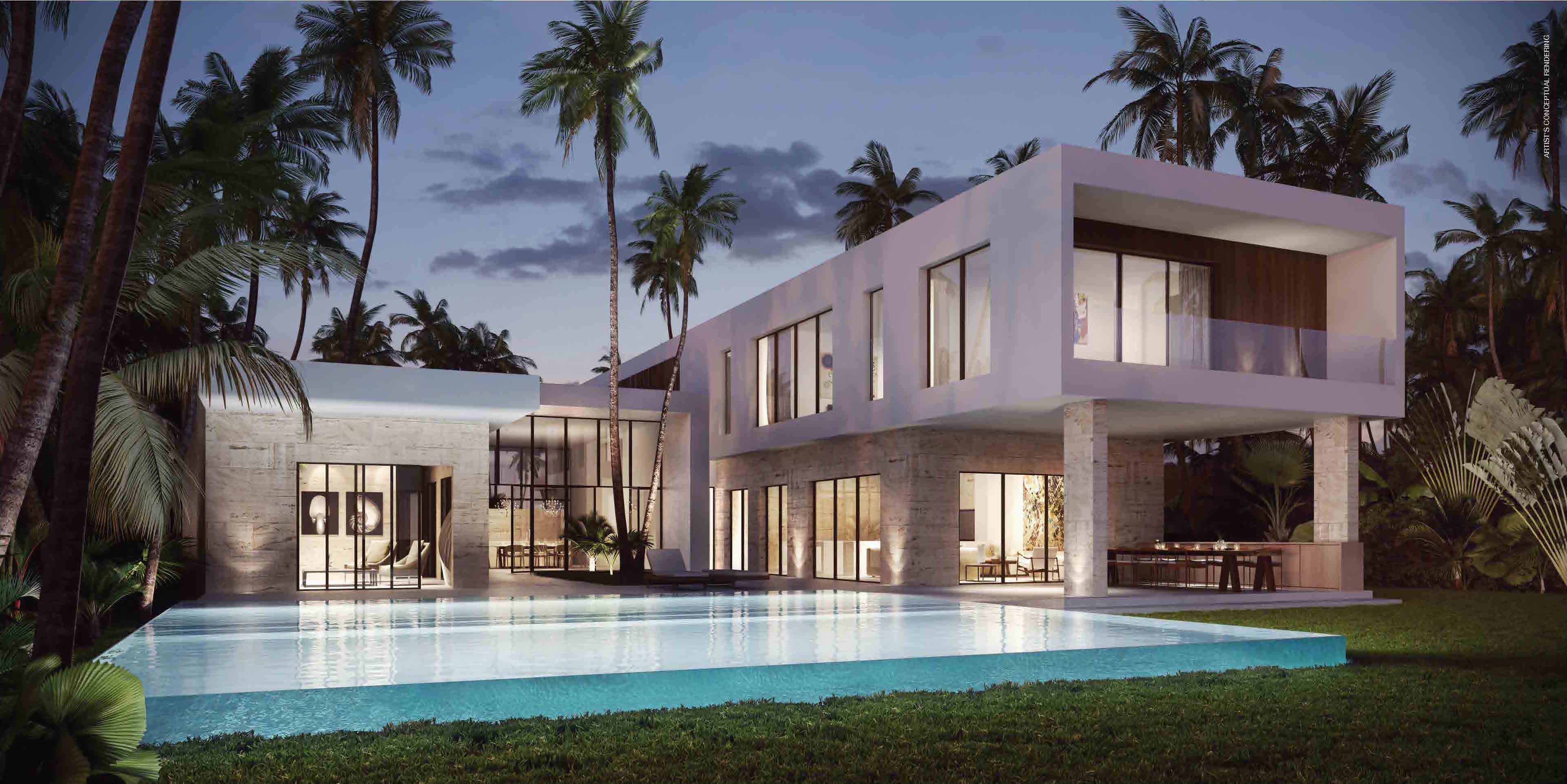 Botaniko weston ultra modern luxury in weston florida for Modern houses in florida