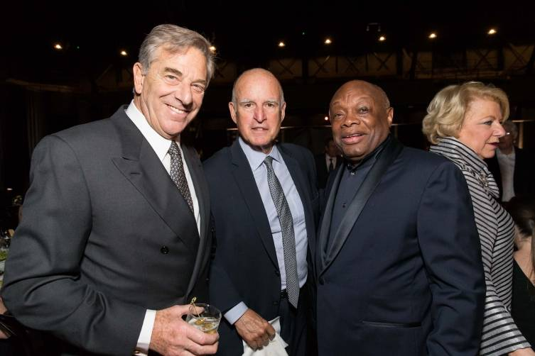 Paul Pelosi, Governor Jerry Brown, Willie Brown