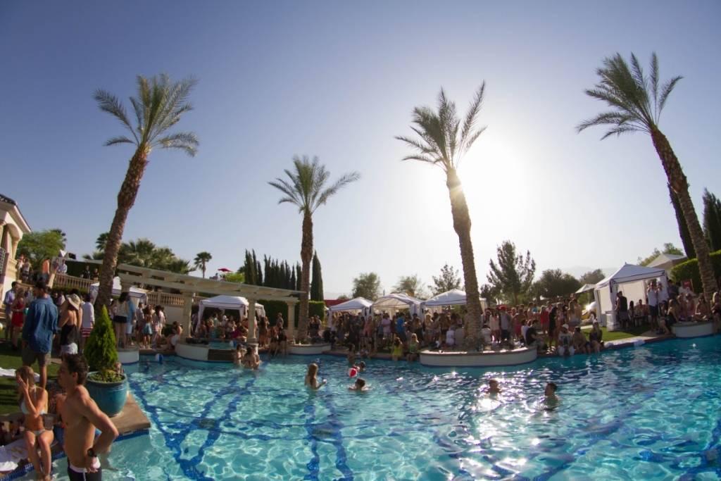 Coachella pool party