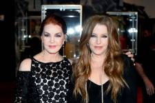 Priscilla Presley, Lisa Marie Presley. Courtesy Getty Images 2