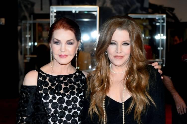 Priscilla Presley, Lisa Marie Presley. Courtesy Getty Images 2