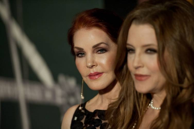 Priscilla And Lisa Marie Presley Open The New Elvis Exhibit