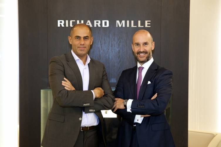 RM_Daniel Bacardit-Stamm, GM Richard Mille ME & Wajdi A. Hadi, GM Al Manara International Jewellery