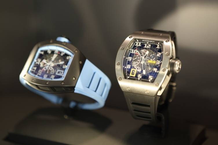 Richard Mille Watches at boutique