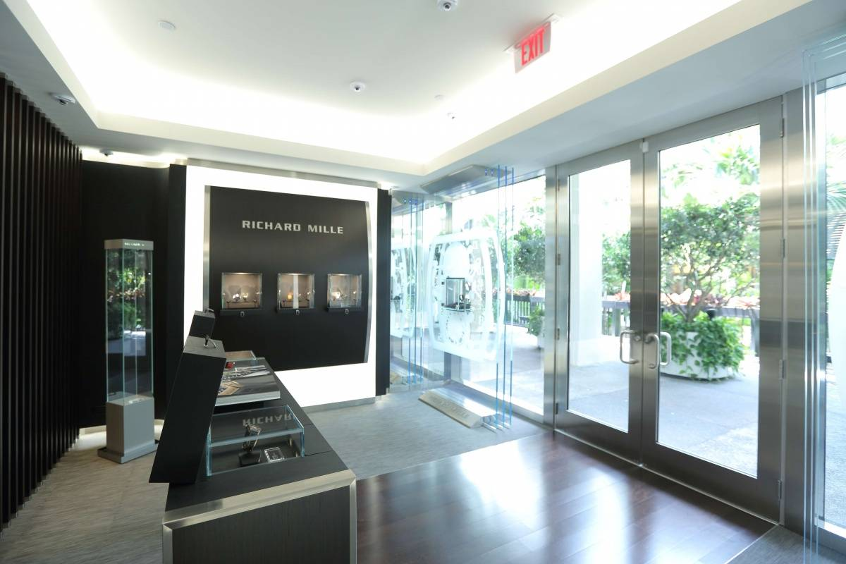 Richard Mille boutique interior