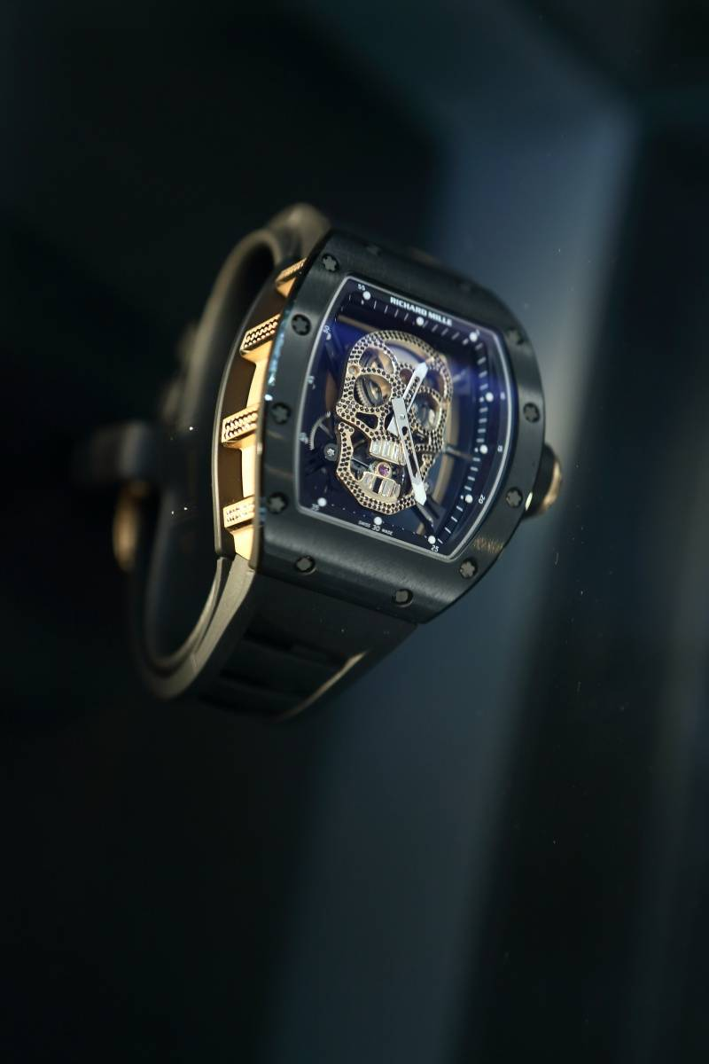 Richard Mille watch at Bal Harbour boutique