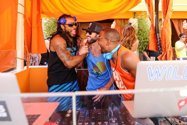 Richard Sherman, Brody Jenner and William Lifestyle at Tao Beach