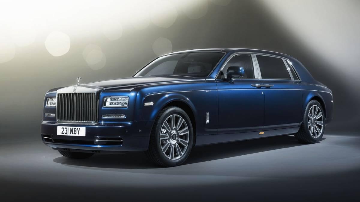 The $650,000 Rolls-Royce Phantom Limelight.