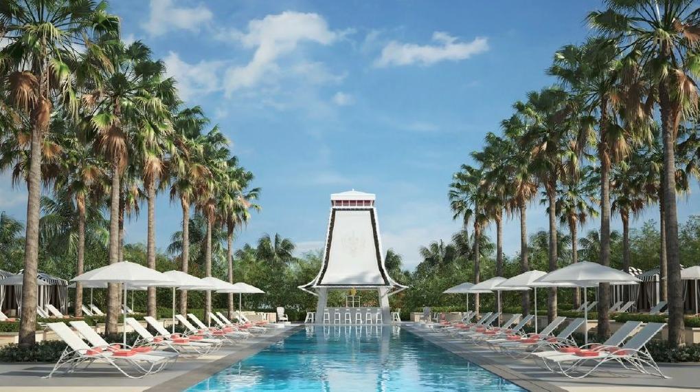 SLS Baha Mar Pool