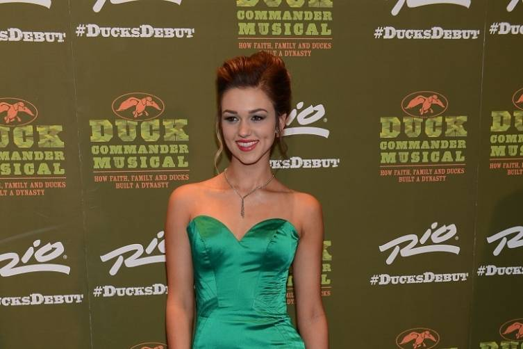 Sadie Robertson at World Premiere of DUCK COMMANDER MUSICAL 4.15.15_Credit Denise Truscello