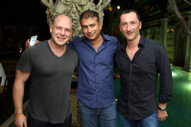 Salvador Briman, Kamal Hotchandani, Pierre Salanitro