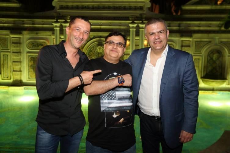 Salvadro Briman, Mike Kalwani and Ricardo Guadalupe