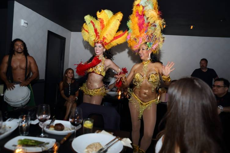 Samba Dancers at STK