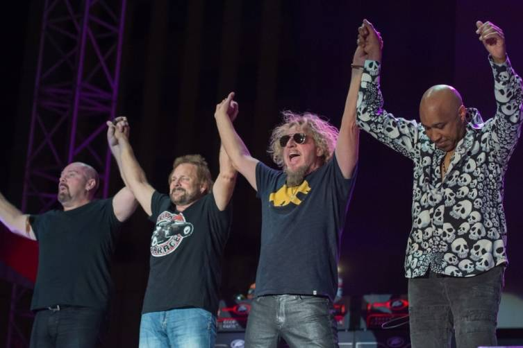 Sammy Hagar & The Circle at Downtown Las Vegas Events Center 4.11.5