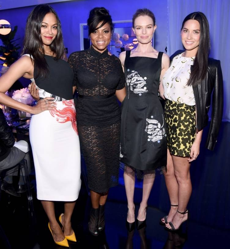 Zoe Saldana, Taraji P. Henson, Kate Bosworth and Olivia Munn