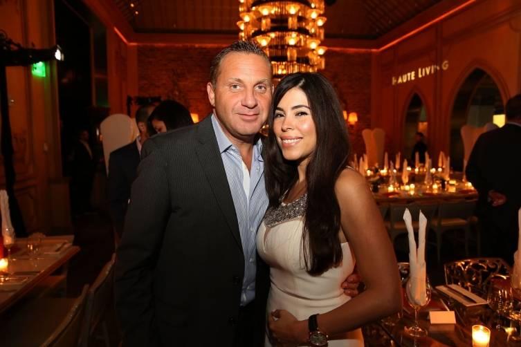 Sandy Becher and friend