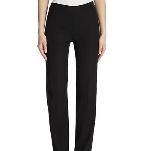 Armani Collezioni Cady Straight-Leg Trousers ($625)