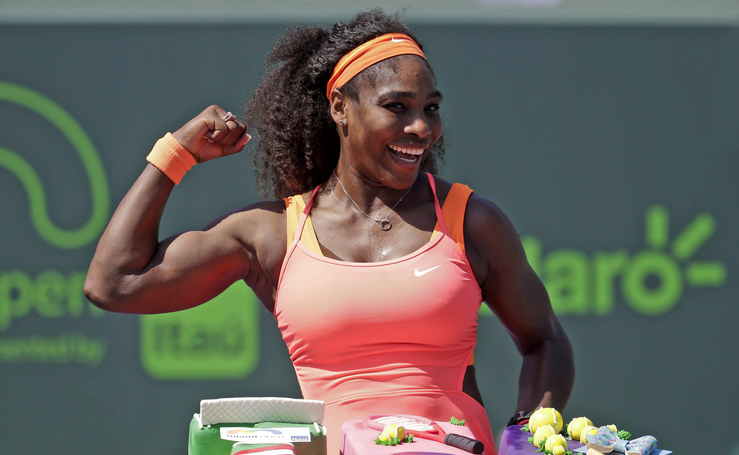 Serena wins 8th Miami Open, image via goerie