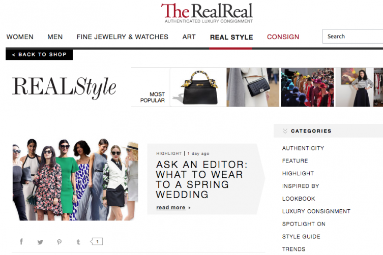 luxury online consignment the realreal acquires 40 million in funding