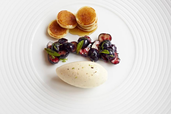 A dish from Thomas Keller's the French Laundry