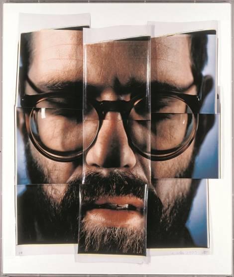 Self-Portrait_Composite_ 9 parts, 1979#58A2