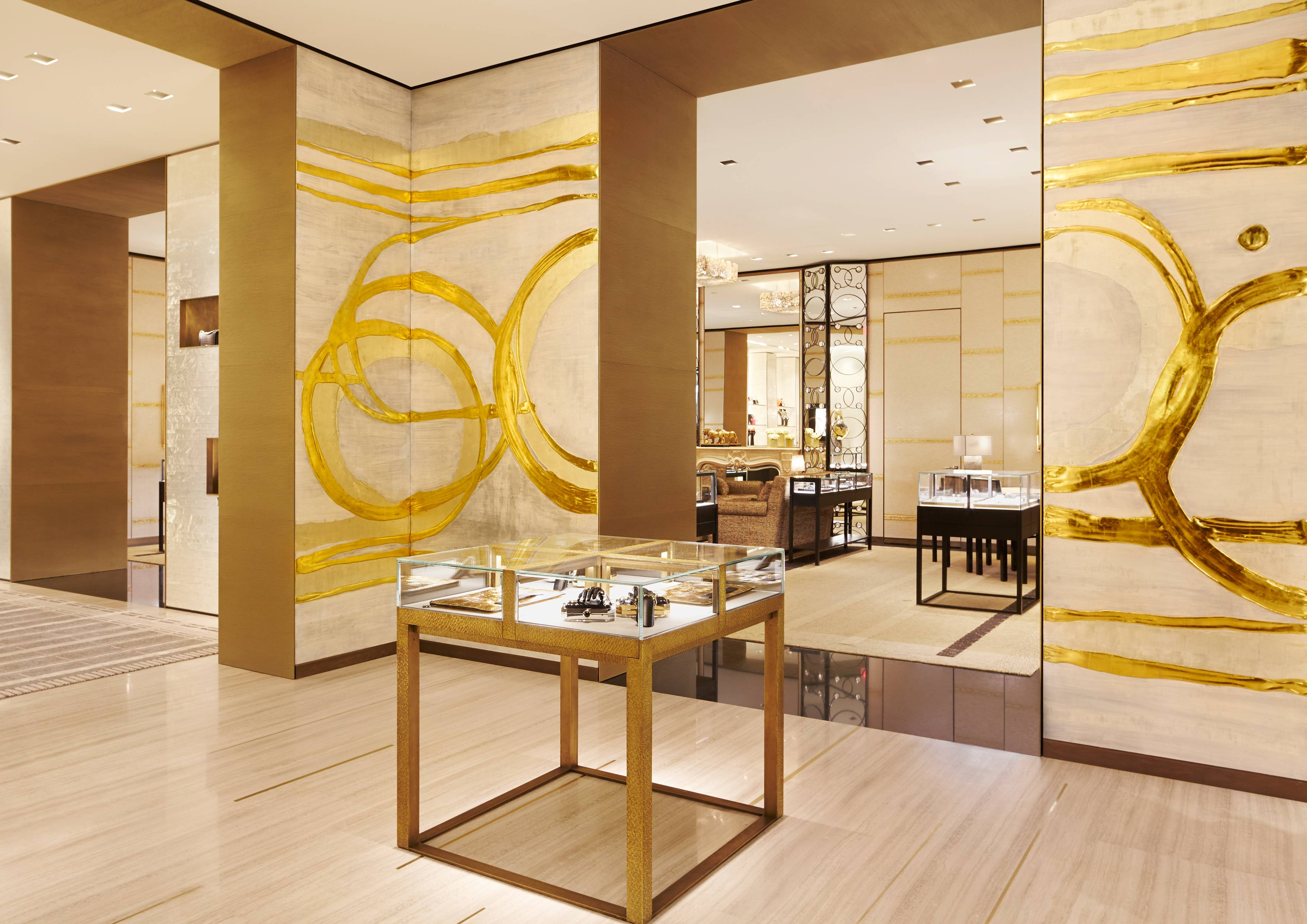 la chanel at south coast plaza gets a golden makeover south coast plaza boutique pictures by sam frost 010