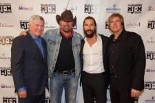 Jack Brown, Toby Keith, Matthew McConaughey and Jack Ingram