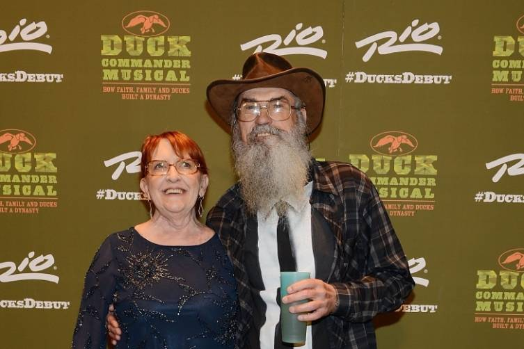 Uncle Si and Christine Robertson at World Premiere of DUCK COMMANDER MUSICAL 4.15.15_Credit Denise Truscello