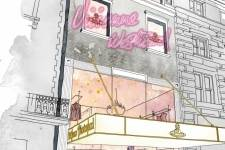 A rendering of the Vivienne Westwood boutique in New York. (Courtesy Sketch)