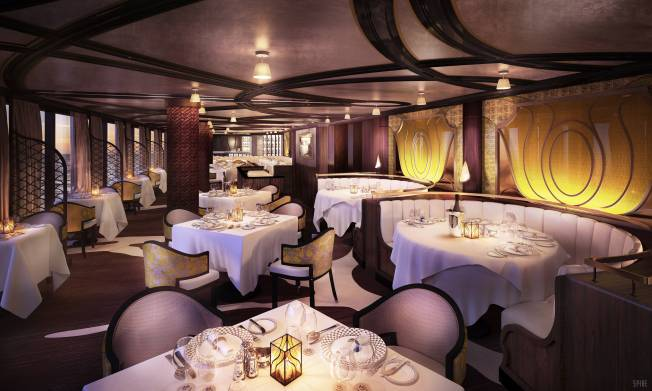 Chartreuse will feature gourmet French fare