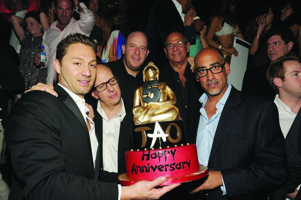 Jason Strauss, Rich Wolf, Noah Tepperberg, Marc Packer, Lou Albin, image via Denise Truscello/WireImage