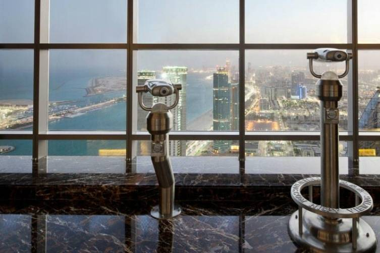 Jumeirah at Etihad Towers Observation Deck